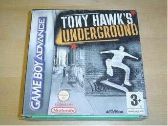 TONY HAWKS UNDERGROUND NINTENDO GAMEBOY ADVANCE GBA *NYTT*