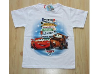 Car´s t-shirt! BlixtenMcQueen! FRI FRAKT!