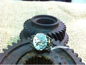 Steampunk Ring Laif Cosplay Steampunk Ring Smycke