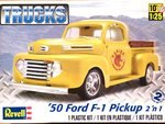 Revell Monogram 1/25 1950 Ford F-1 Pickup (2 in 1)