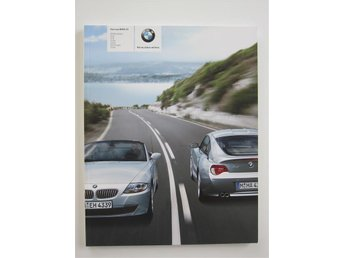 BMW Z4 Roadster / Coupe´ -07 Broschyr