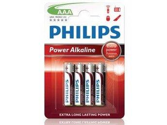 Philips Power Alkaline AAA 4-pack - Malmö - Philips Power Alkaline AAA 4-pack - Malmö