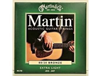 Gitarrsträngar Martin Guitars M170 80/20 Bronze .010-.047 - Enskede - Gitarrsträngar Martin Guitars M170 80/20 Bronze .010-.047 - Enskede
