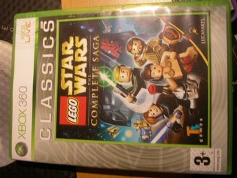 XBOX 360 spel Lego Star wars the complete saga