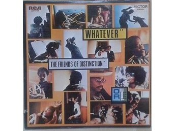 The Friends Of Distinction title*  Whatever* US LP