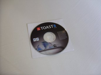 Toast Mac 8 Titanium CD/Media brännar program för Mac OS X CD ROM new