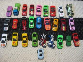 Leksaker Bilar Leksaksbilar 28st bilar/mc VLB 233 - Uddevalla - Leksaker Bilar Leksaksbilar 28st bilar/mc VLB 233 - Uddevalla