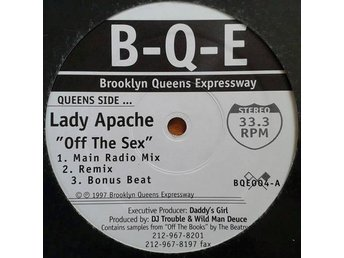 Lady Apache / Big City Crew title* Off The Sex / My Sound* Hip Hop, Reggae 12