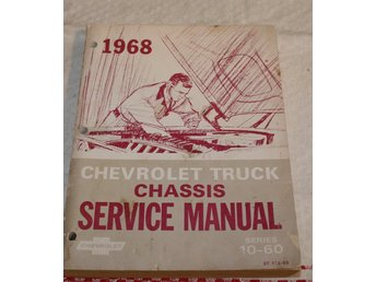 1968. CHEVROLET TRUCK CHASSIS SERVICE MANUAL.