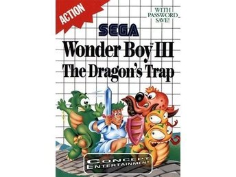 WONDER BOY 3 III - THE DRAGON'S TRAP /DRAGONS (komplett) till Sega Master System