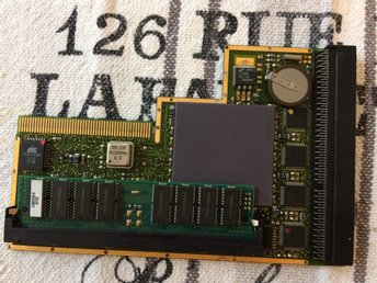 Blizzard 1260 phase 5 amiga 1200 turbo kort med 16 mb minne