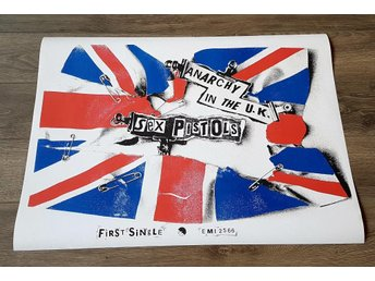 SEX PISTOLS ANARCHY IN THE UK PROMO POSTER