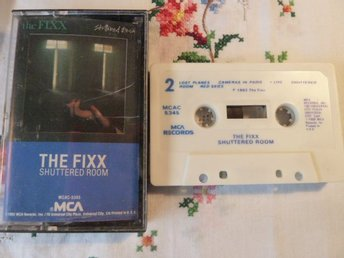 THE FIXX, SHUTTERED ROOM, I FOUND YOU, CAMERAS IN PARIS, LIVE, KASSETTBAND