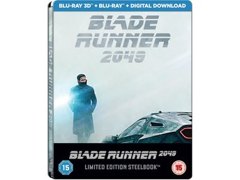 Blade Runner 2049 3D (Includes 2D Version) - Limited Edition Steelbook Blu-ray