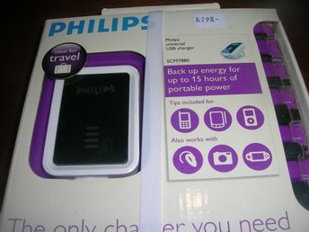 Philips universal Usb laddare SCM 7880