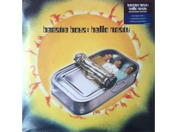 BEASTIE BOYS - HELLO NASTY 2-LP 180G GATEFOLD NY