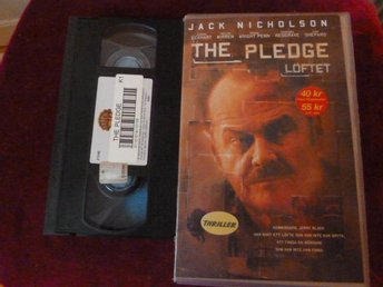 THE PLEDGE LÖFTET,   VHS FILM