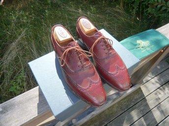 "Crockett & Jones ""Westgate"" storlek UK 7,5"