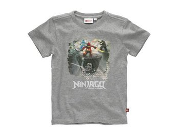 LEGO NINJAGO, POWER T-SHIRT, GRÅ (140)