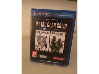 Metal Gear Solid HD Collection  - Komplett - Fint skick - PS Vita