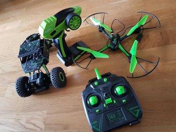 M15 drone och rockcrawler radiostyrd bil och drone - Växjö - M15 drone och rockcrawler radiostyrd bil och drone - Växjö