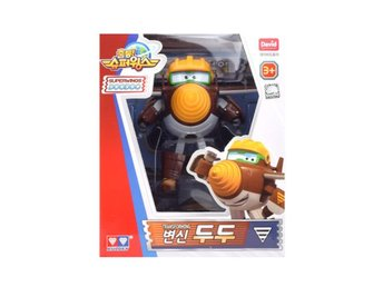 Super Wings Season 2 - Transforming Doodoo Action Figur ! Mästerflygarna