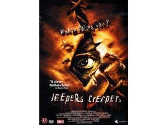 Jeepers Creepers.. Skräck.. Ny/Inplastad.. - Katrineholm - Jeepers Creepers.. Skräck.. Ny/Inplastad.. Inte allt för oäven skräckfilm som fått två uppföljare, detta är dock originalfilmen.. Inspelningsår -01.. Region 2, Svensk Text.. Ny & Inplastad.. Frakt 18kr.. - Katrineholm