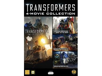Transformers 1-4 Collection - Nyrelease (4 DVD)