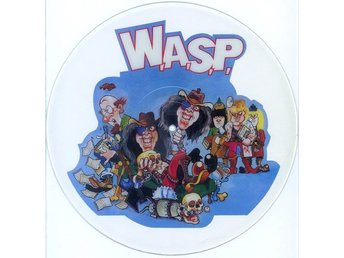 "W.A.S.P. 'The Real Me' 1989 UK UNCUT 12"" picture-disc"