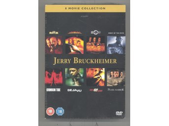 JERRY BRUCKHEIMER COLLECTION (8-DVD BOX) UTGÅNGEN /  NY PLASTEN KVAR