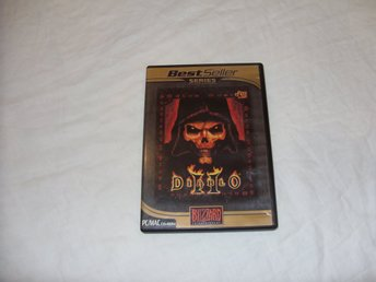 Diablo II PC & Macintosh CD ROM Engelsk Best Seller Series Blizzard strategi RPG