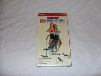 AB King Pro Burn It Up Abdominal Training Program VHS PAL Engelsk 2002