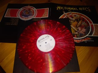Nocturnal Rites - Tales Of Mystery And Imagination Lp röd splitter Ltd150x