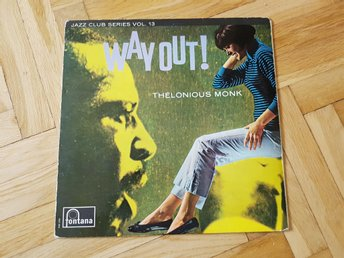 Thelonious Monk  Way Out! LP vinyl! Fontana 1965 Mono!
