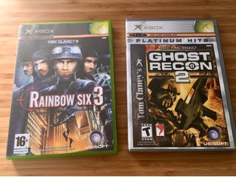 Rainbow Six 3 & Ghost Recon 2 - XBOX