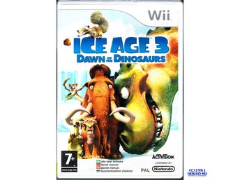 ICE AGE 3 DAWN OF THE DINOSAURS WII SVENSK UTGÅVA