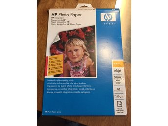 PHOTO PAPER Fotopapper, A4 25 st, Nytt, HP:s egna