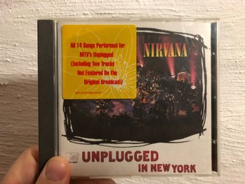 Nirvana Unplugged in New York CD