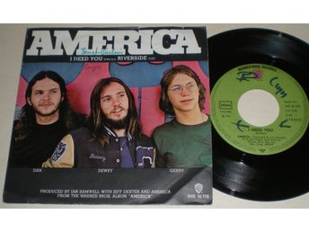 America 45/PS I need you 1972