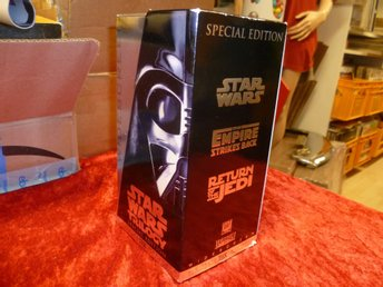 STAR WARS , SPECIAL EDITION , VHS ,Utgivet 1997 , 3 FILMER , PAL , Svensk Text