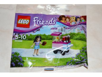 Cupcakevagn m. Figur Lego 30396 Friends Ny