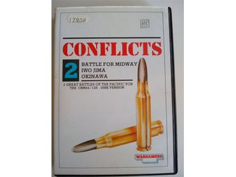 Conflicts 2 Battle For Midway Krigsspel till Commodore 64