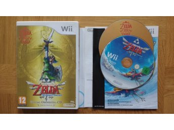 Nintendo Wii: Zelda: Skyward Sword Limited Edition (kräver motion plus)