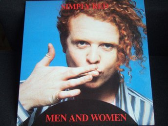 LP - SIMPLY RED. Men and Women. 1987