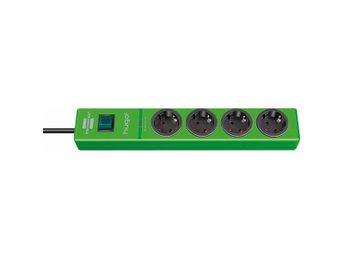 Brennenstuhl grenuttag med 4xCEE 7/4 uttag, 1xCEE 7/7, 2m kabel, grön - Höganäs - Brennenstuhl grenuttag med 4xCEE 7/4 uttag, 1xCEE 7/7, 2m kabel, grön - Höganäs