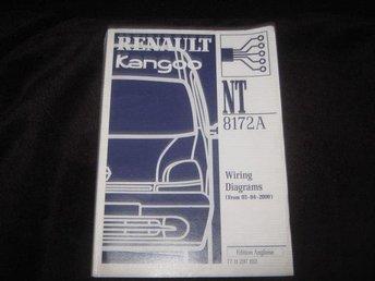 Renault Kango verkstadshandbok NT 8172 A på engelska - Mjölby - Renault Kango verkstadshandbok NT 8172 A på engelska - Mjölby