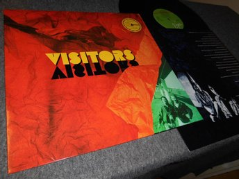 Visitors - Attention (LP) svensk synthpop VG++/EX