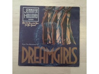 "JENNIFER HOLLIDAY - DREAMGIRLS. (7"" SINGEL)"