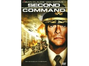 SECOND IN COMMAND - Jean-Claude Van Damme - DVD SVENSK TEXT