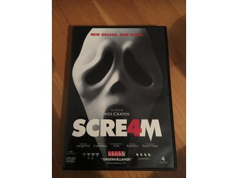 Dvd film scream 4 skräck